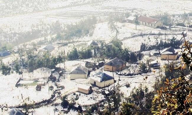 Khám phá thời tiết lạnh tại Sapa