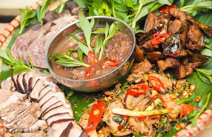 Đặc sản từ thịt lợn đặc biệt tại Lào Cai