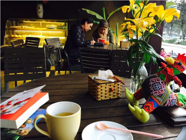 Quán Cafe Gần Khu Nhà Thờ Đá Sapa