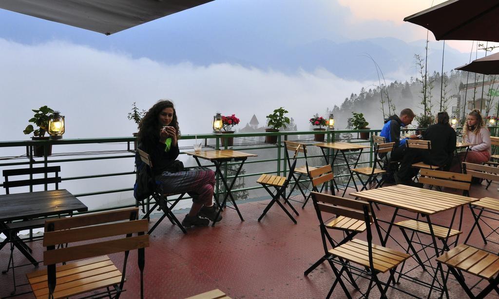 Quán Cafe Ở Bản Cát Cát