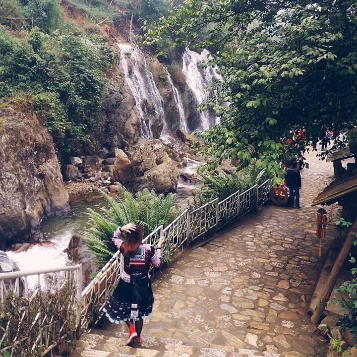 Phong Cảnh Thiên Nhiên Bản Cát Cát Sapa