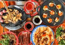 quán ăn vặt mộc châu