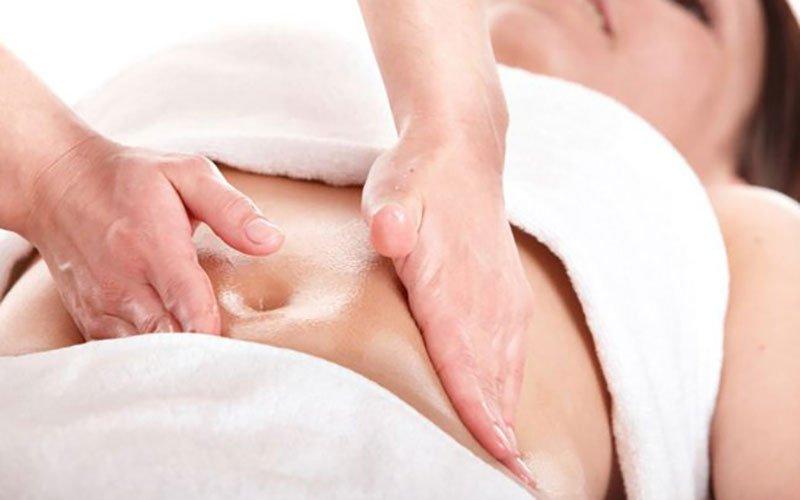 Cách massage giảm đau bụng